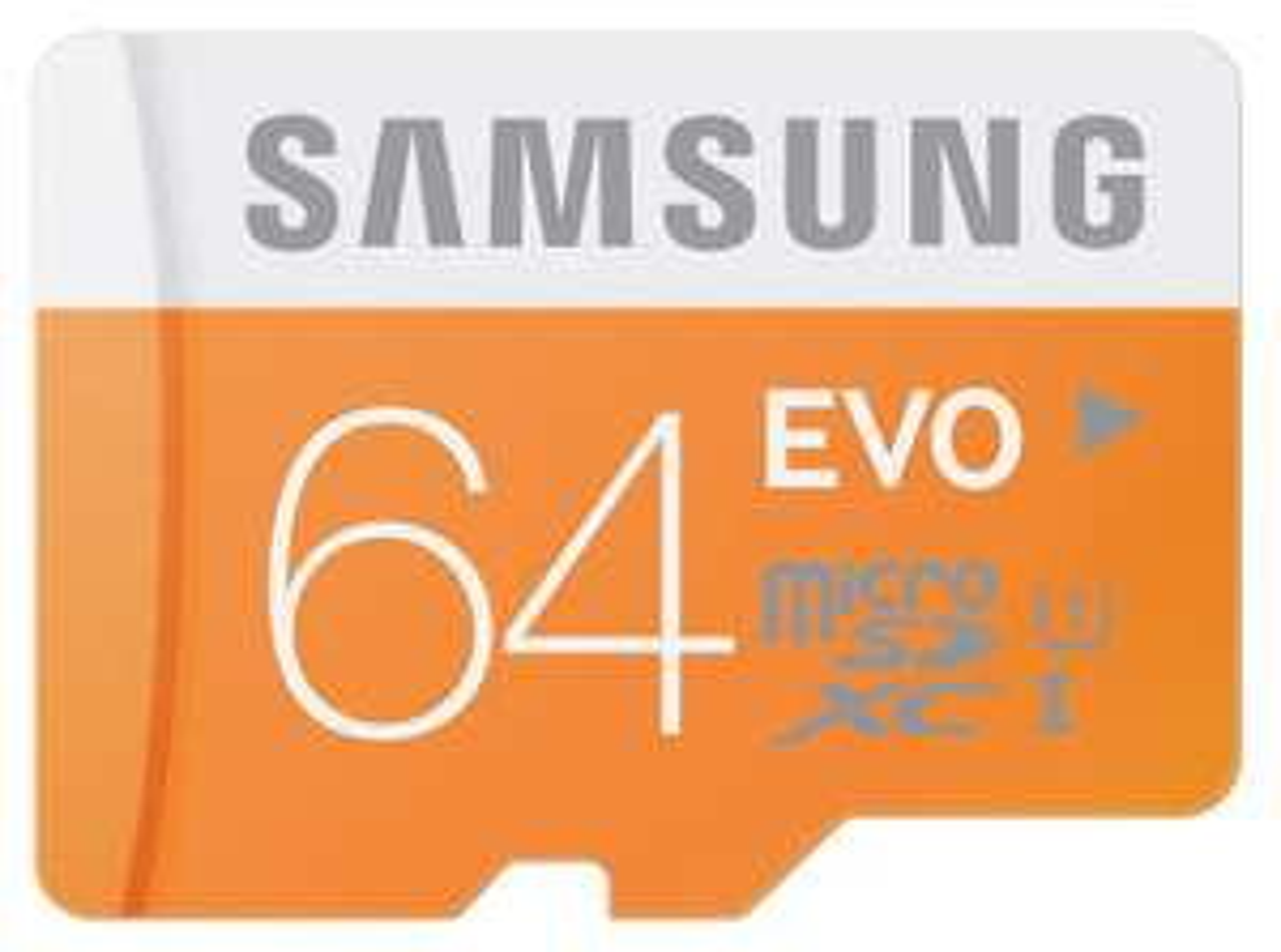 Carte mémoire microSDXC Samsung Evo 64Go Classe 10 UHS-I