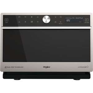 Four micro-ondes combiné Whirlpool MWP3391SX Supreme Chef
