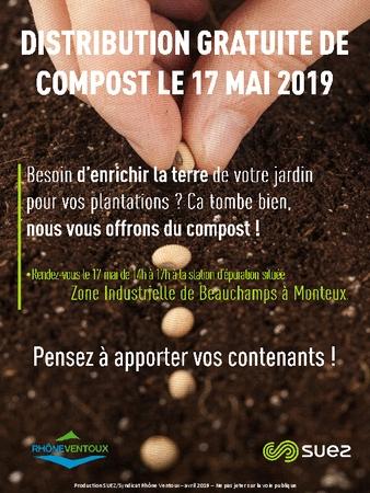 Distribution Gratuite de Compost - Monteux (84)