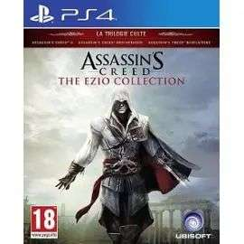 Assassin's Creed - The Ezio Collection sur PS4 + 0,85€ en Super Points