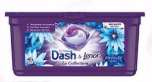 Boite de 25 doses de Lessive Dash 3 en 1 - Plusieurs variétés (via 7,32 € fidélité et BDR)