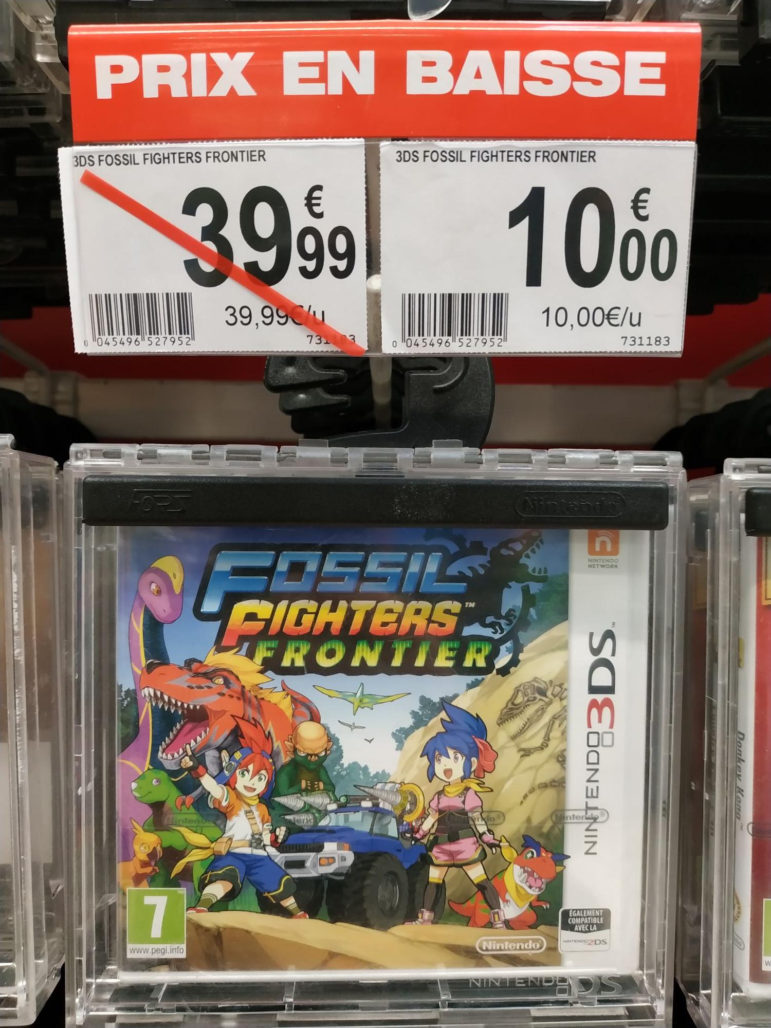 Fossil Fighters : Frontier sur Nintendo 3DS - Le Pontet (84)