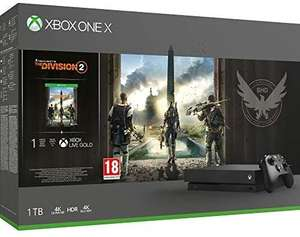Console Microsoft Xbox One X - 1 To + Tom Clancy's The Division 2