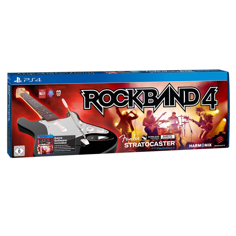 Rock Band 4 avec Guitare sur PS4