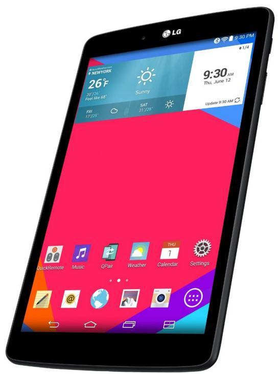 "Tablette 8"" LG GPad 8.0 16 Go - Noir"