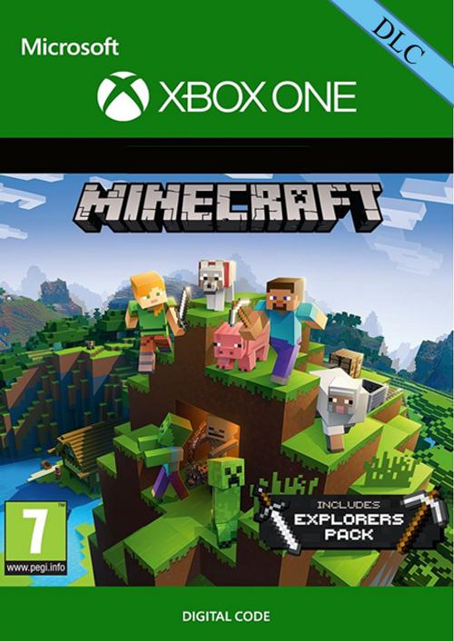 DLC Minecraft: Explorers Pack sur Xbox One (Dématérialisé)