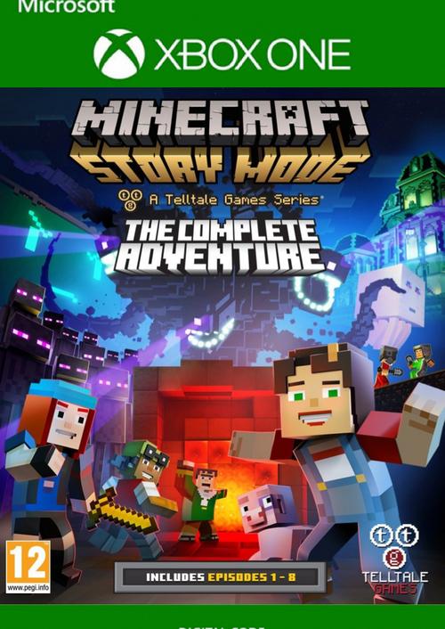 Jeu Minecraft Story Mode Complete Adventure sur Xbox One (Dématérialisé)