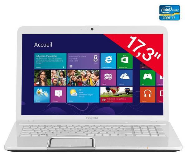 PC Portable Toshiba L870-16C 17.3″ : Core i7 Ivy Bridge, HD7670M
