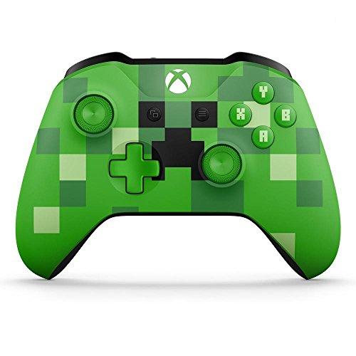 Manette sans-fil Microsoft pour Xbox One - Edition Limitée Minecraft Creeper