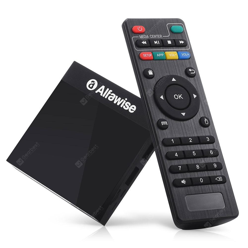 Box TV Alfawise A9 4K - Amlogic S905, Android 8.1, 2 Go RAM, 16 Go ROM