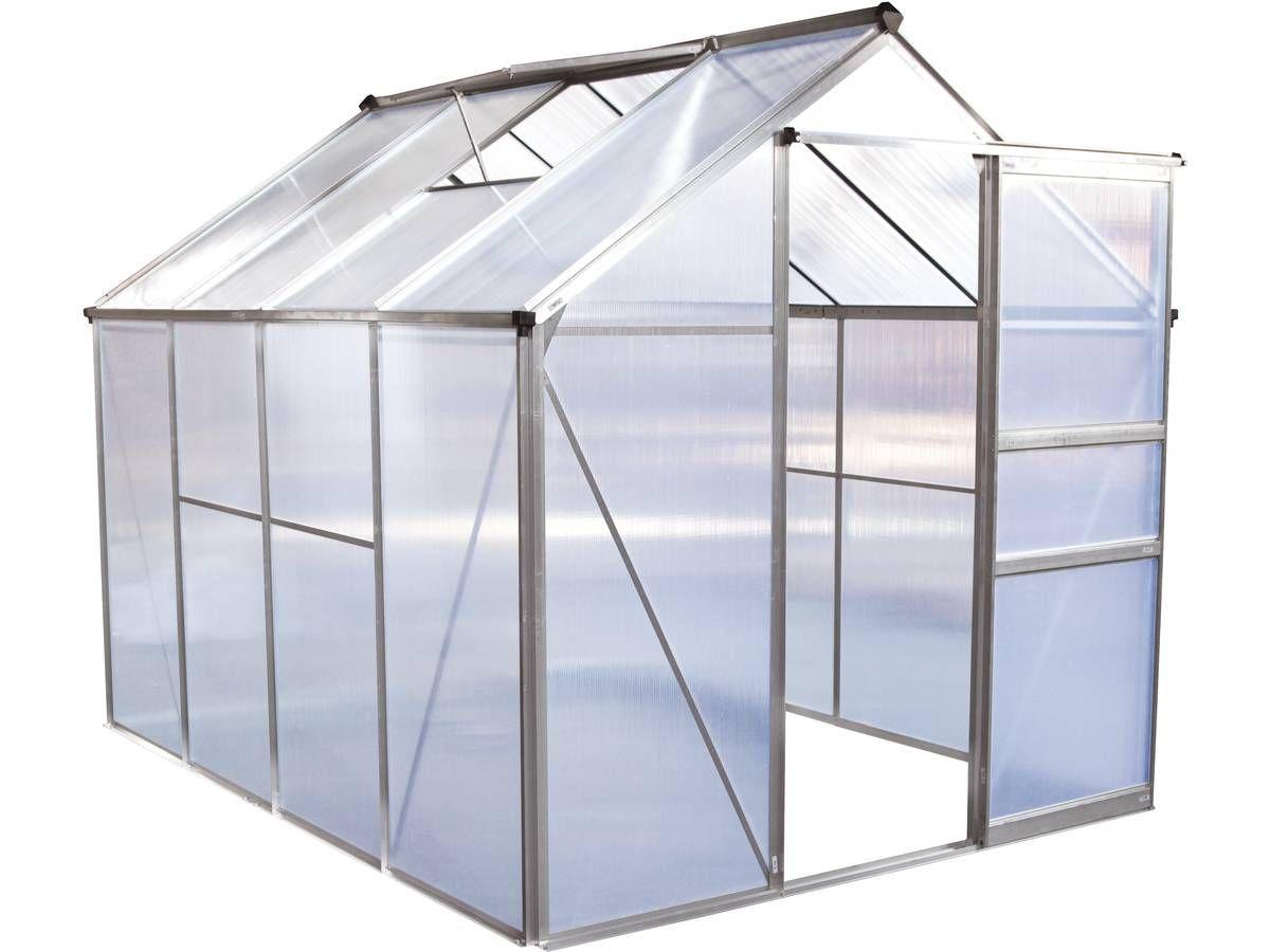 Serre de jardin en polycarbonate 4,8m2