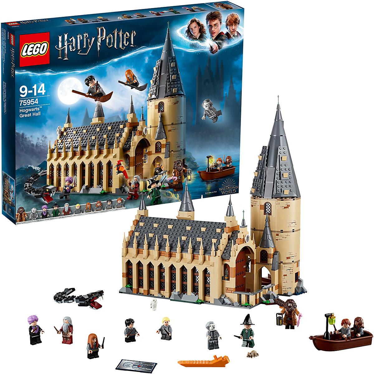 Jeu de Construction Lego Harry Potter - La Grande Salle du château de Poudlard - 75954