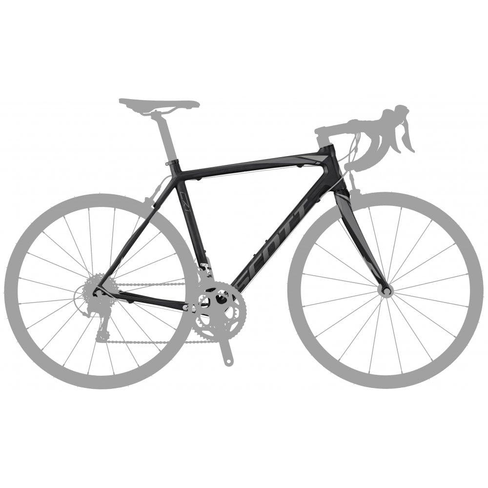 Cadre et fourche Vélo route Scott CR1 10 en Carbone - 2017 (56 et 61cm) - westbrookcycles.co.uk