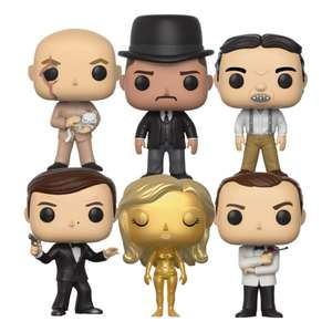 [Précommande] Pack de 6 Figurines Funko Pop! James Bond