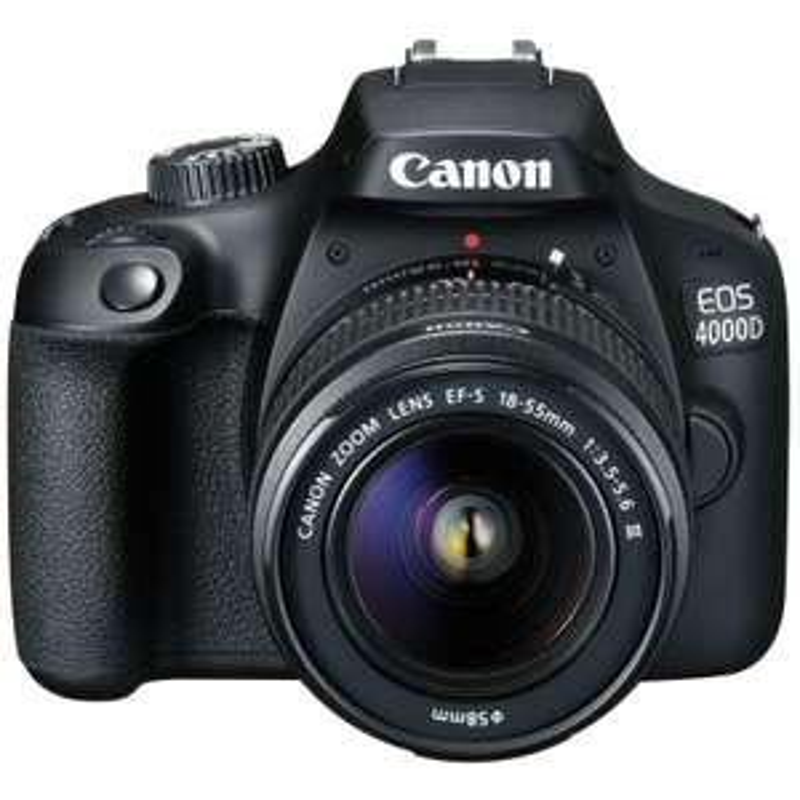 Appareil photo Reflex Canon EOS 4000D avec Objectif 18-55 III