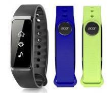 Bracelet connecté Acer Liquid Leap (ODR 20€) + 2 bracelets (vert et bleu)  offerts