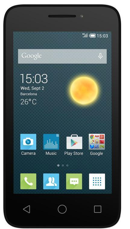 "Smartphone 4"" Alcatel Pixi 3 Blanc"