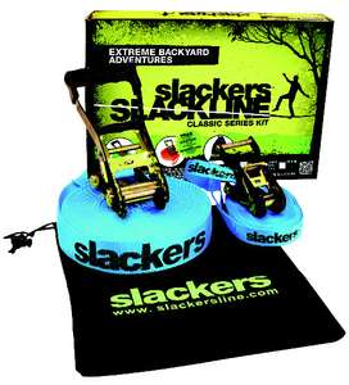 Sangle Slackline Slackers 15m x 5cm + sangle d'apprentissage