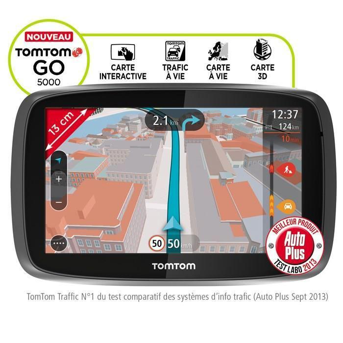 Jusqu'à 100% remboursés sur une sélection d'articles (en 2 bons d'achat sans minimum - Opération W115) - Ex : GPS TomTom Go 5000 (+239.99€ en 2 bons)