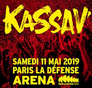Concert Kassav le 11 Mai 2019 en Fosse à Nanterre La Défense Arena (92)
