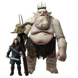 Figurines The Hobbit - Double Pack Thorin et le Roi des Gobelins