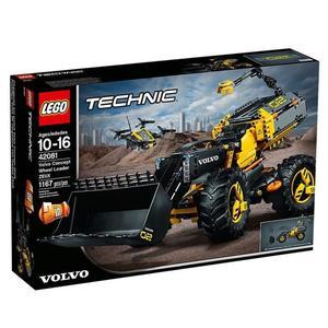 Jeu de construction Lego Technic - Le tractopelle Volvo Concept ZEUX (42081)