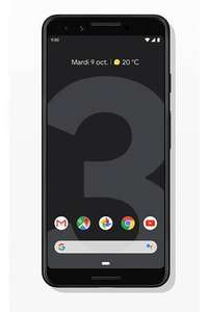 "Smartphone 5.5"" Google Pixel 3 - Full HD+, Snapdragon 845, RAM 4 Go, ROM 128 Go, Noir"