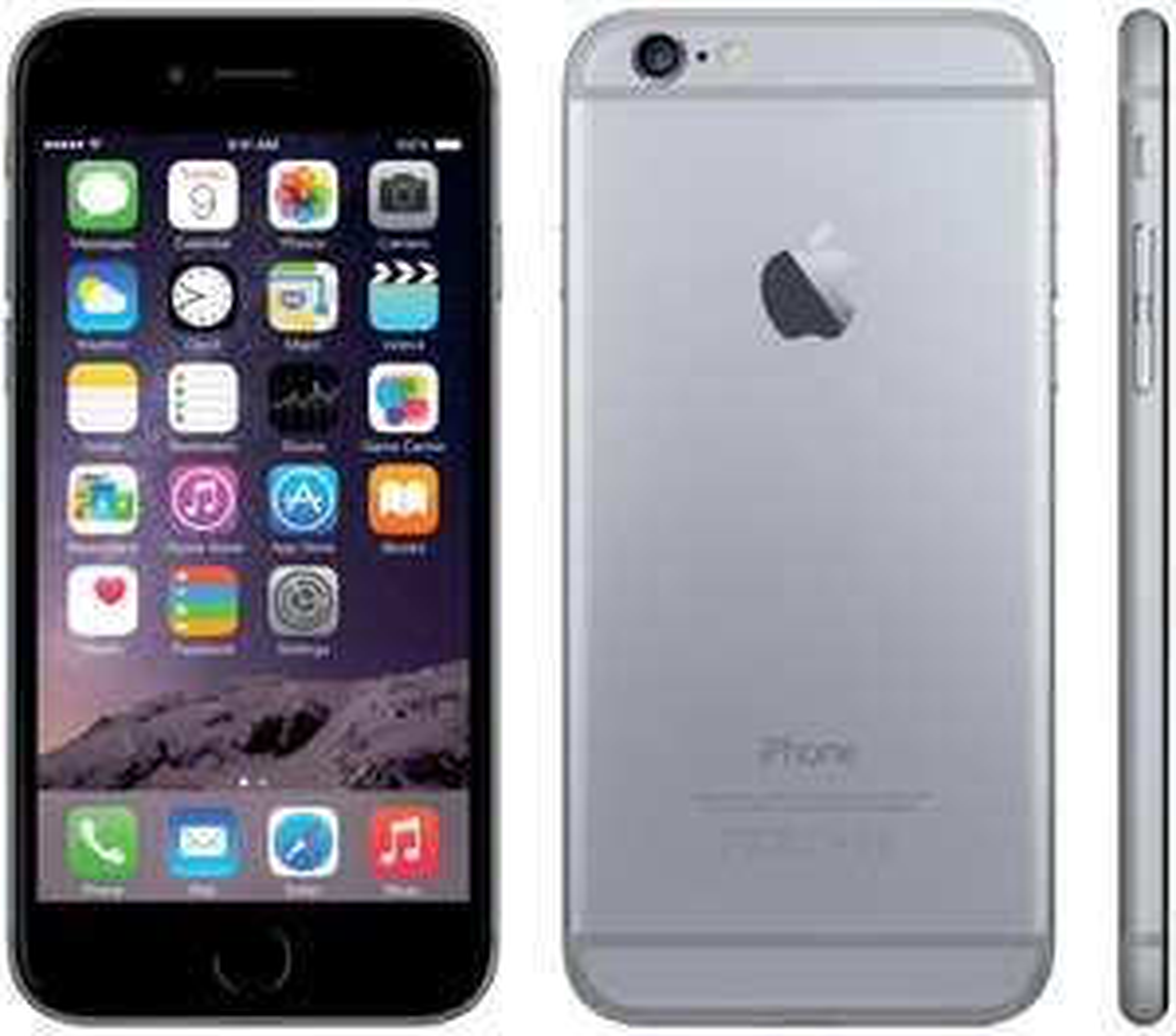 "Smartphone 4.7"" iPhone 6S - 16Go - Argent ou Gris"