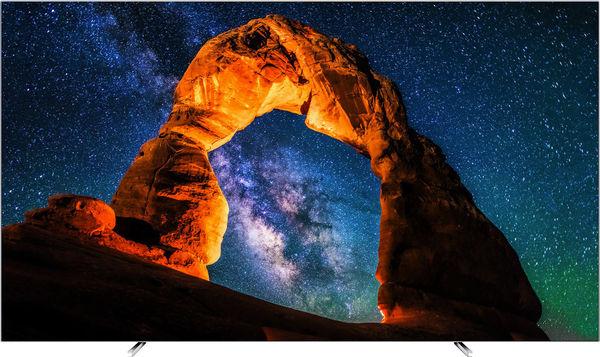 """TV 65"""" Philips 65OLED803 - UHD 4K OLED, HDR, Ambilight 3 côtés"""