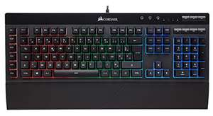 Clavier filaire gaming Corsair K55 RGB (41,49€ avec le code FRENCHDAYS10)