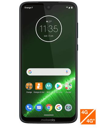 "Smartphone 6.2"" Motorola Moto G7 Plus - 4 Go de RAM, 64 Go"