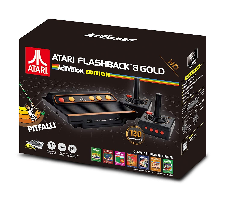 Sélection de Consoles Rétro en promotion - Ex : Atari Flashback 8 Gold HD - Activision