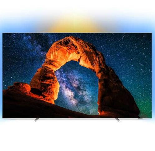 """TV OLED 55"""" Philips 55OLED803 - UHD 4K, HDR, Smart TV, Ambilight 3 côtés (+ 300€ en bon d'achat Meuble/Déco)"""