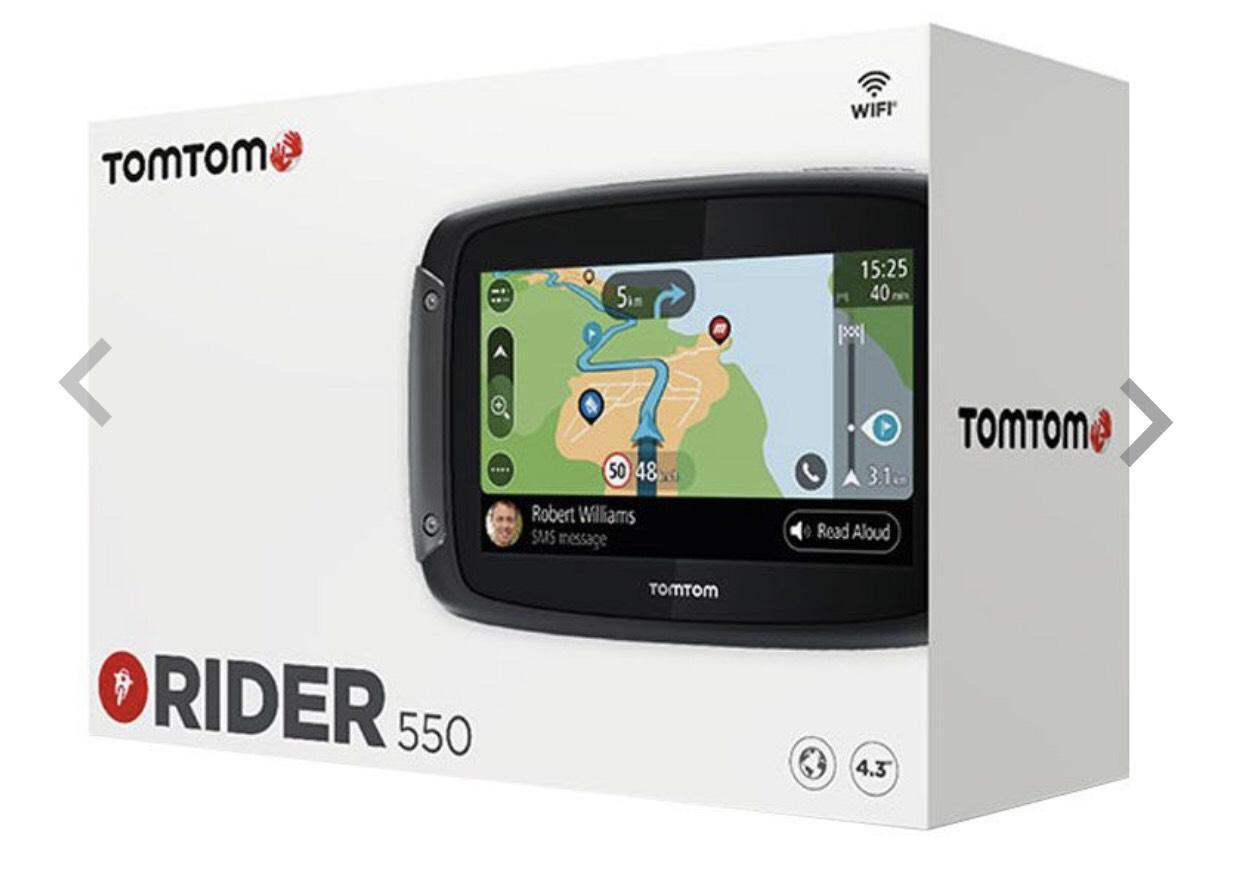 """GPS 4.3"""" Moto TomTom Rider 550"""