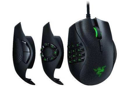 Souris Gaming Razer Naga Trinity Noir