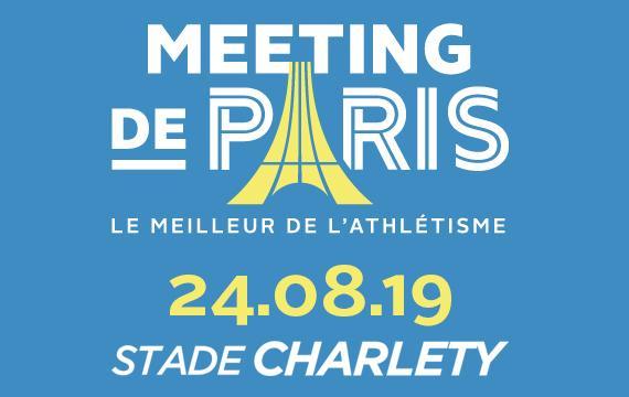 50% de réduction sur l'ensemble des places catégorie 1 et 2 pour le Meeting de Paris d'athlétisme 2019