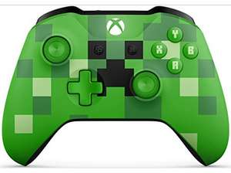 Manette sans fil Microsoft Xbox Minecraft Creeper - Edition limitée (Frontaliers Espagne)