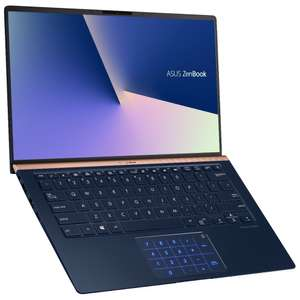 "PC Portable 14"" Asus ZenBook 14 UX433FA-A5045T avec NumberPad - Full HD, i5-8265U, RAM 8 Go, SSD 256 Go, Windows 10"