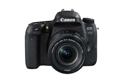 Appareil photo reflex Canon EOS 77D+ Objectif EF-S 18-55 mm (vendeur tiers)