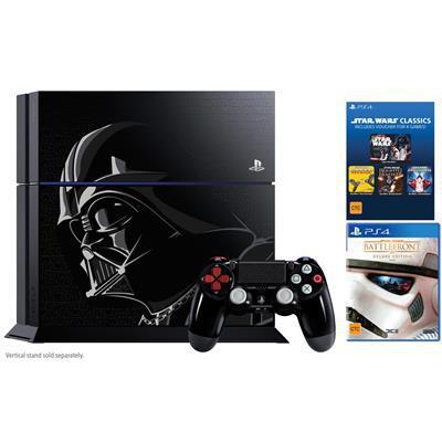 Console PS4 1To Edition Limitée Star Wars + Star Wars Battlefront + 4 jeux Star Wars Dématérialisés