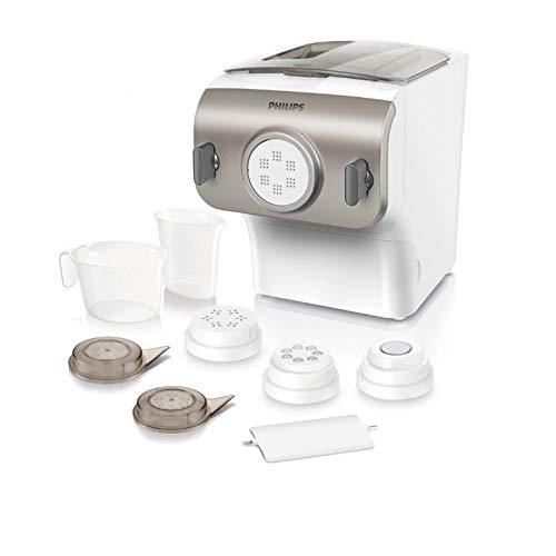 Appareil à pâtes Philips HR2355/09 Collection Avance - 0,25 kg, 200W, Blanc (125.99€ avec le code FRENCHDAYS10)