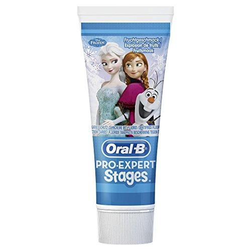 [Panier Plus] Lot de 3 dentifrices  Oral-B Pro Expert Stages - 3 x 75 ml