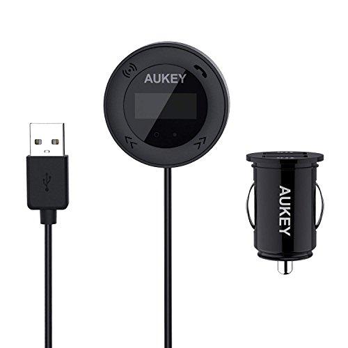 Transmetteur FM Aukey - Bluetooth 4.1 (Vendeur tiers)