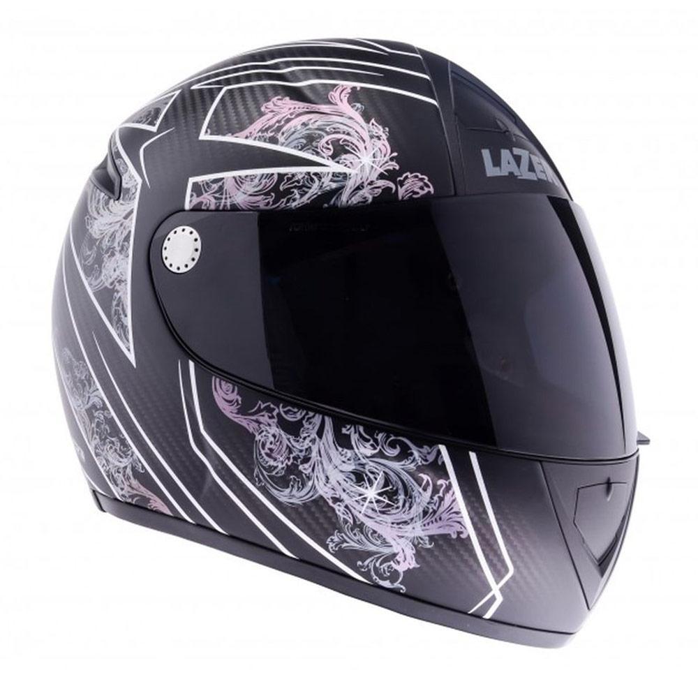Jusqu'à 70% de réduction sur une sélection de casques moto Lazer - Ex : Casque intégral Falcon Ghost Pure Carbon