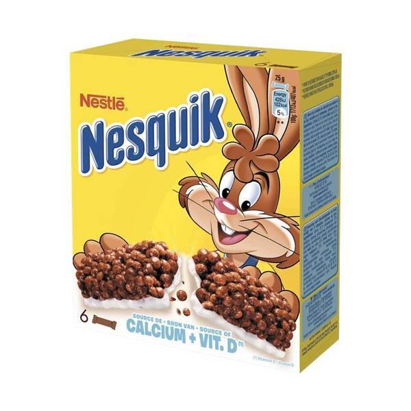 2 Paquets de barres de céréales Nesquik (Via BDR)