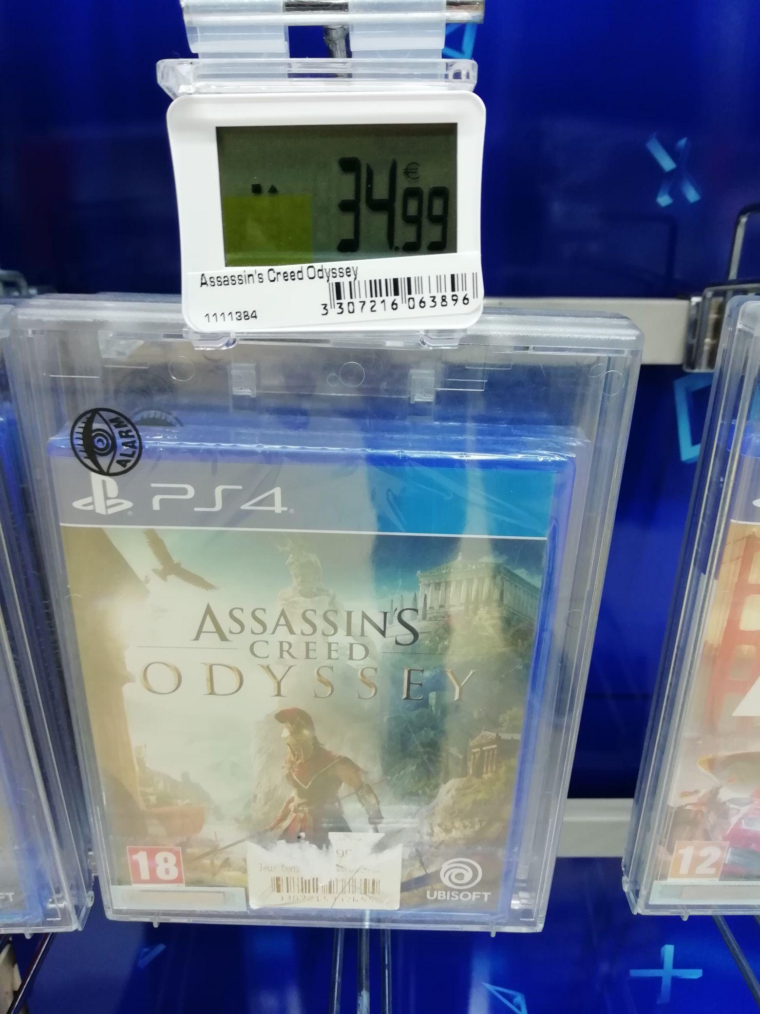 Jeu Assassin's Creed Odyssey sur PS4 - Boulanger Saint Orens (31)