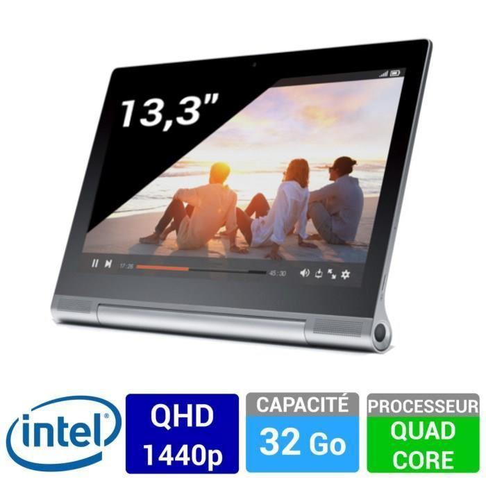 """Tablette 13.3"""" Lenovo Yoga 2 Pro 32 Go - Gris métal (avec ODR 100€)"""