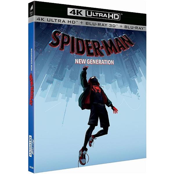 Blu-ray UHD 4K Spider-Man : New Generation