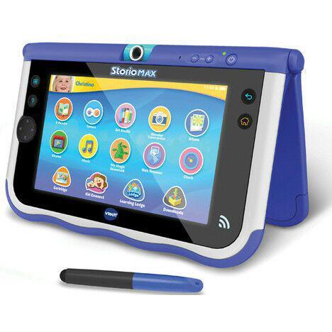 tablette 7 vtech storio max bleue. Black Bedroom Furniture Sets. Home Design Ideas