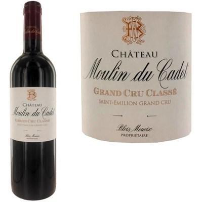 Ch. Moulin du Cadet St Emilion Gd Cru Classé 2012